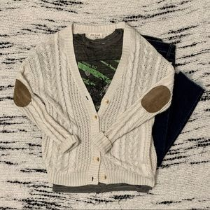 Olive & Oak Chunky Knit Long Cardigan Sweater